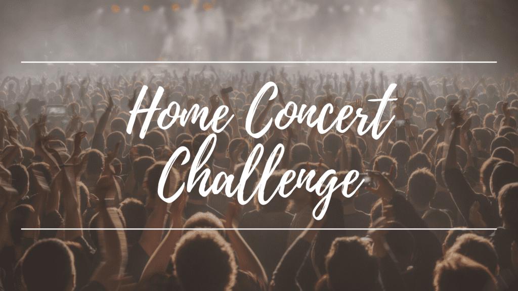 Home Concert Challenge 2020